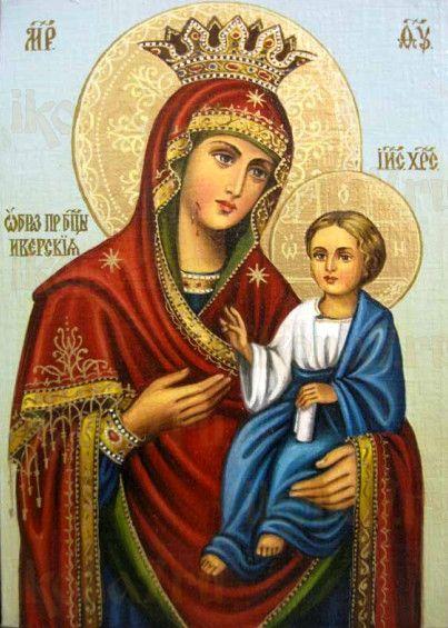 Иверская икона БМ (рукописная на заказ)