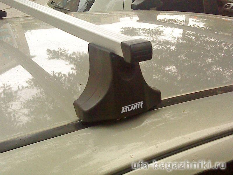 Багажник на крышу Opel Astra H, Атлант, прямоугольные дуги