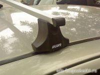 Багажник на крышу Opel Astra, Атлант, прямоугольные дуги