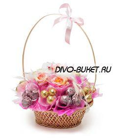 """Свадебный букет из конфет №170 """"Селеста"""""""