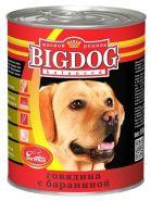 Зоогурман BIG DOG Консервы для собак Говядина с бараниной (850 г)