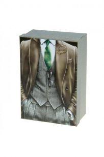 """Коробка подарочная """"Мужчина в пальто"""""""