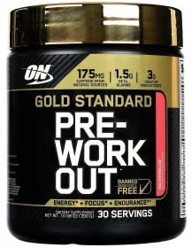 Optimum Nutrition Gold Standard PRE-Workout  (300 гр.)