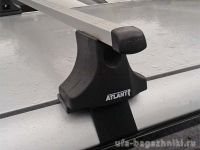 Багажник на крышу Audi A6 Type C5, Атлант, прямоугольные дуги