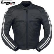 Мотокуртка кожаная Furygan Forty Four, Черный с белым