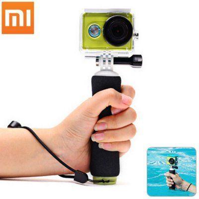 Монопод + поплавок  Xiaomi для  action камер Yi   (Selfee stick - monopod)
