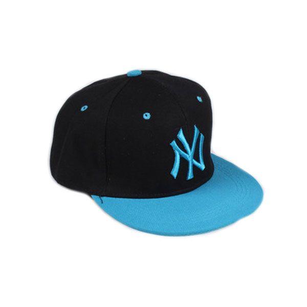 Кепка New York Yankees, с голубым козырьком
