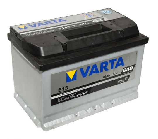 Автомобильный аккумулятор АКБ VARTA (ВАРТА) Black Dynamic 570 409 064 E13 70Ач ОП