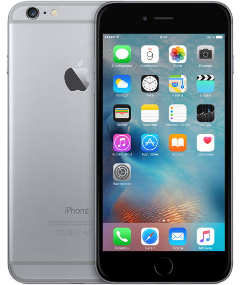 Apple iPhone 6 Plus 16 Gb Space Grey