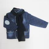 Куртка джинсовая с шарфом (Нипер)