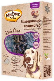 Мнямс беззерновое лакомство для собак Grain Free 100 г