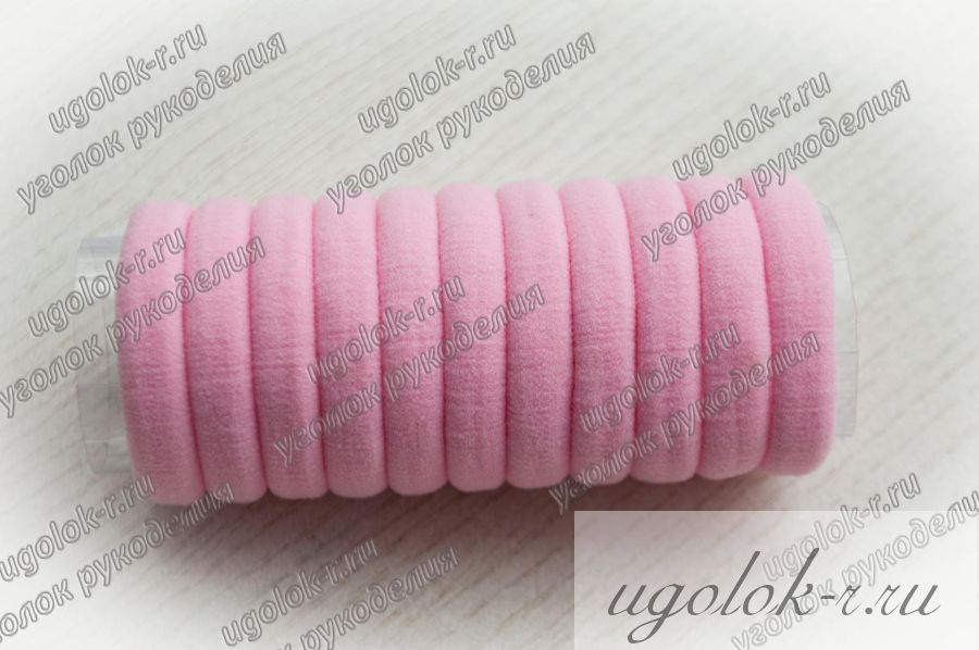 Резинка бесшовная 4 см (розовая)