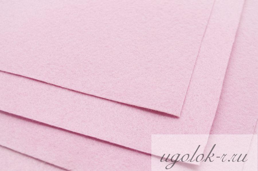 Фетр (розовый)
