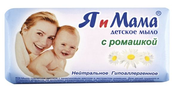 Туалетное мыло Я и Мама с ромашкой