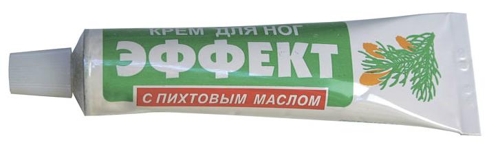 Крем для ног Эффект с пихтовым маслом