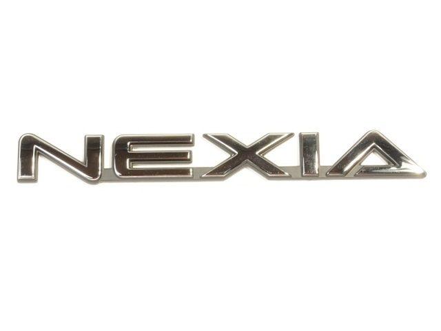 """Эмблема надпись """"Nexia"""" 96211227 General Motors"""