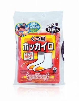 """""""KOWA"""" Одноразовая грелка для ступней ног 5 пар/уп. (70 х 90 мм) (5 часов при средней температуре 35макс 41)"""