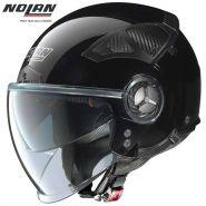 Мотошлем Nolan N33 Evo Classic Demi Jet, Черный