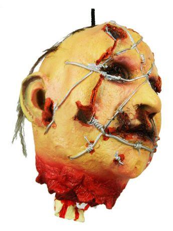 Голова Отрубленная в колючке