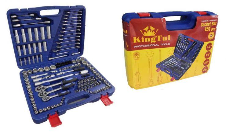 Набор инструментов KingTul KT151 151 предмет