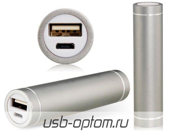 3000mAh Внешний аккумулятор  Apexto  APA1022100 серебро