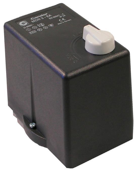 Реле давления Condor MDR3/11 6.3,10,16 А  (Aмпер) 380B