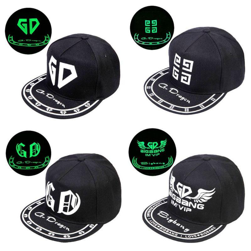 Светящаяся кепка с логотипом G-Dragon