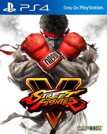 Игра Street Fighter V (PS4)