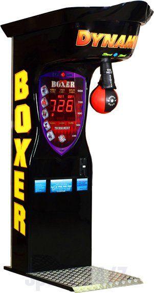 """Игровой автомат - """"Boxer Dynamic"""" (жетоноприемник) 57.015.00.0"""