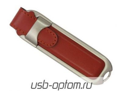 16GB USB-флэш-накопитель Supertalent DL-T коричневая кожа без блистере