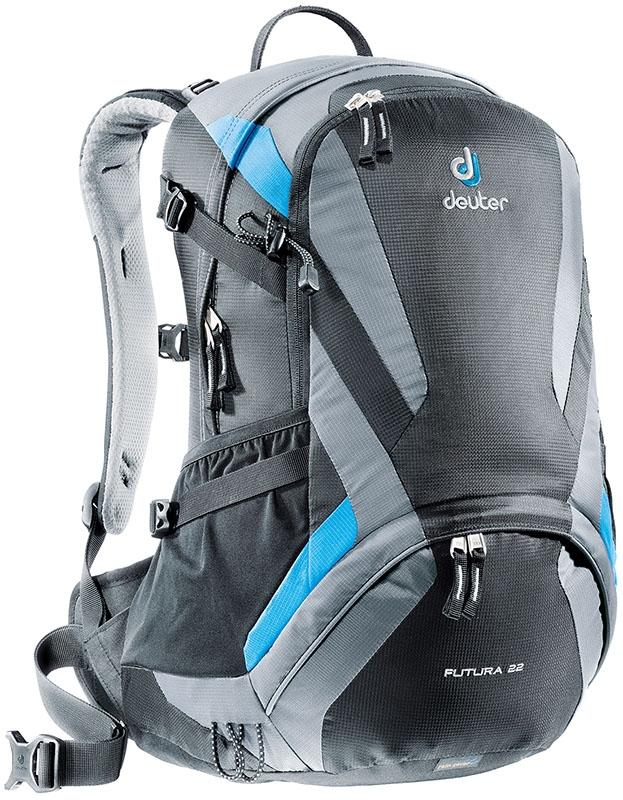 Deuter Aircomfort Futura Futura 22L black-titan универсальный рюкзак