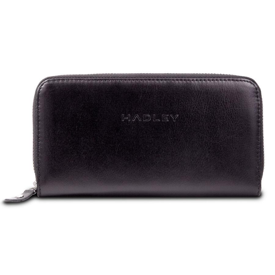 HADLEY JOHN BLACK кожаный клатч