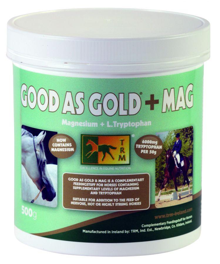Good As Gold+MAG. TRM. Успокоительная добавка с триптофаном и магнием. 500 гр.