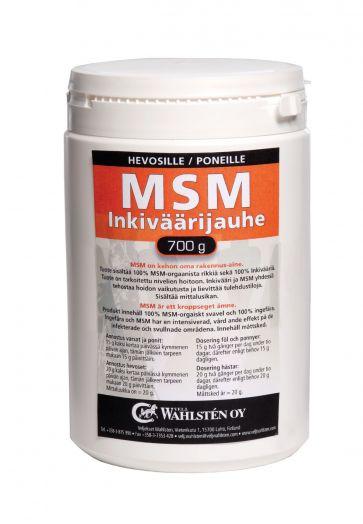 Wahlsten МСМ 95% и имбирь 5%. Cера для мышц, копыт, суставов и сухожилий. Снимает воспаление. 700 гр