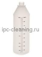 Бутылка пластиковая 1 л, с градуировкой (ЕР01-Р)