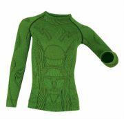 брубек термобелье Комплект детский (мал) BRUBECK wool merino купить в интернет магазине зеленый
