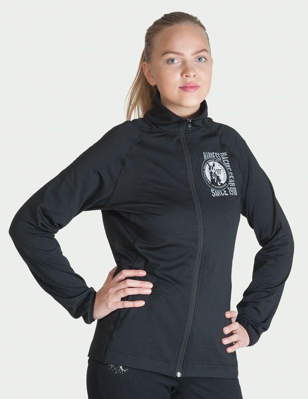 """Универсальная куртка """"LADY FIT"""". Микро-флис. Не собирает шерсть. черный XS"""