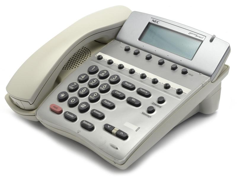 Системный телефон NEC Dterm Series i DTR-8D-2 White