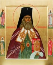 Икона Николай Японский (рукописная)