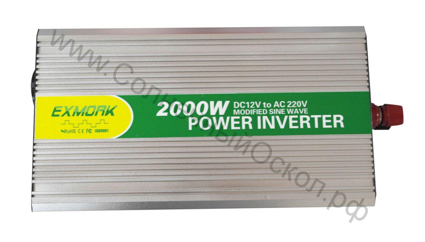 Инвертор модифицированный синус TWM-2000 12V