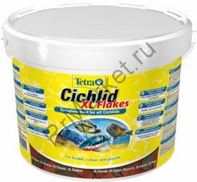 TetraCichlid XL корм для всех видов цихлид, крупные хлопья
