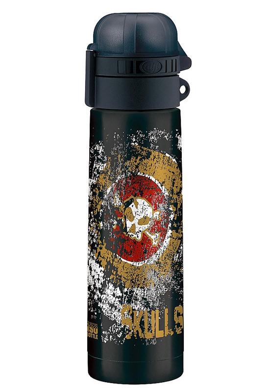 Термос-бутылочка Alfi Skulls black 0,5L