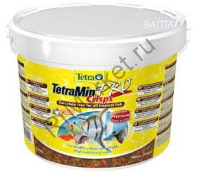 TetraMin Pro Crisps корм-чипсы для всех видов рыб 10 л (ведро)
