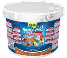 TetraPro Color Crisps - кормовые чипсы, предназначенные для улучшения яркости окраса декоративных рыбок.