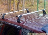 Багажник на крышу на Chevrolet NIVA (Атлант, Россия) - алюминиевые дуги