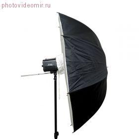 FUJIMI FJSU-R40 Софтбокс-зонт белый на отражение. Цвет чёрный/белый. ф101 см
