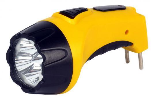 Аккумуляторный светодиодный фонарь 4 LED с прямой зарядкой Smartbuy