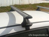 Багажник на крышу Kia Cerato YD 2013-..., Атлант, крыловидные дуги, опора Е