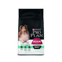 ПРО ПЛАН для собак средних пород с чувствительным пищеварением, ягненок с рисом, 7 кг