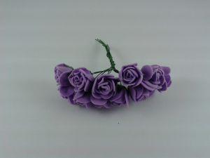 Цветы из фоамирана, 25 мм, 6х12шт, цвет: фиолетовый